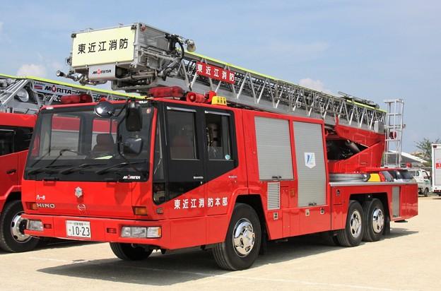 Photos: 滋賀県東近江行政組合消防本部 30m級梯子車