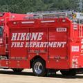 Photos: 滋賀県彦根市消防本部 化学車(オールシャッター仕様、後部)