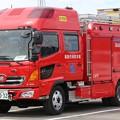 Photos: 滋賀県高島市消防本部 水槽付ポンプ車            (オールシャッター仕様、CAFS付)