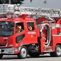 Photos: 大阪府和泉市消防本部 15m級梯子水槽付ポンプ車