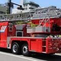 Photos: 広島市消防局 30m級梯子車(後部)