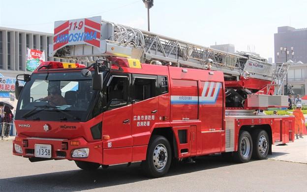 広島市消防局 30m梯子車