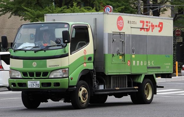 東京めいらく 冷凍車