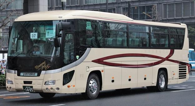 東京ヤサカ観光バス ハイデッカー「パノラマジェット」