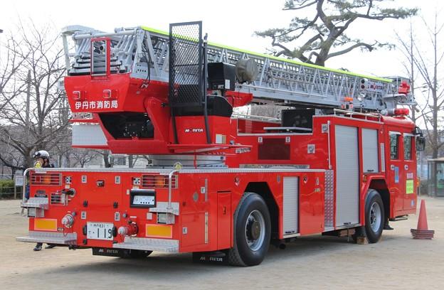 兵庫県伊丹市消防局 40m級梯子車(後部)