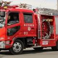Photos: 岡山県総社市消防本部 水槽付ポンプ車(ハーフシャッター仕様)