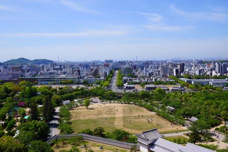 姫路城からの眺め