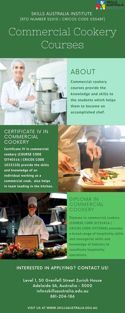 Become A Chef With Our Commercial Cookery Courses