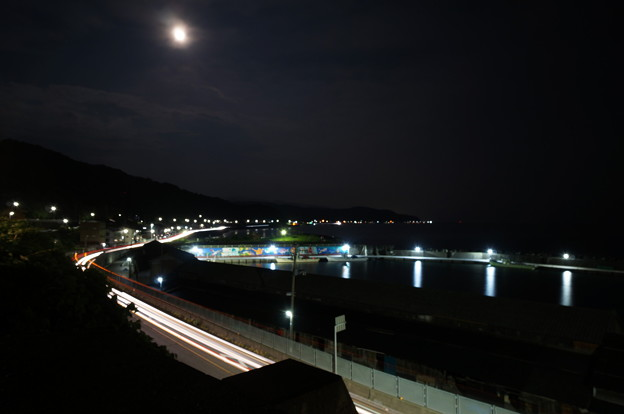 国道の夜景