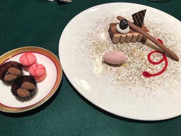 デザートと小菓子