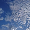 写真: 高い空と低い空
