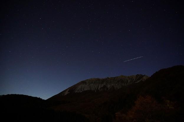 数千光年の光と大山