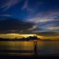 アラカベサン島の黄昏