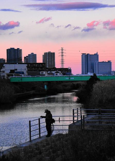 190102_Y51_釣り人のいる川で・S18200・α60(矢上川) (13)
