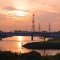 181220_71_夕景・S18200・α60(鶴見川) (3)