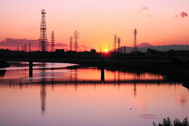 Photos: 200210_51Y_夕景・RX10M3(鶴見川) (84)