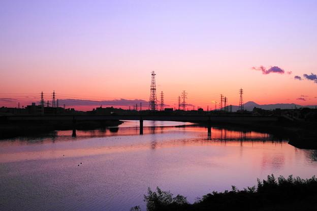 Photos: 200210_51Y_夕景・RX10M3(鶴見川) (99)