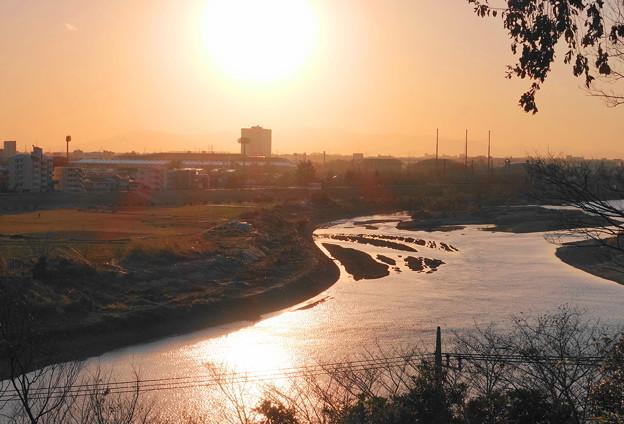 200223_51Y_公園からの夕景・RX10M3(多摩川台公園) (15)