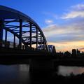 Photos: 200904_64Y_夕闇の丸子橋・RX10M3(多摩川) (4)