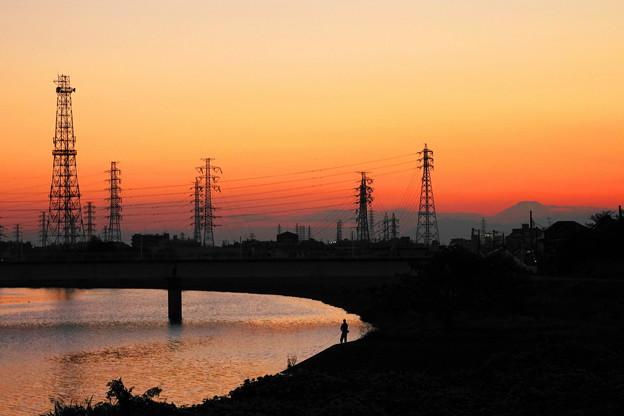 Photos: 201020_56Y_夕景・RX10M3(鶴見川) (8)
