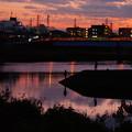 Photos: 201112_55T_夕闇の釣り人・RX10M3(鶴見川) (25)
