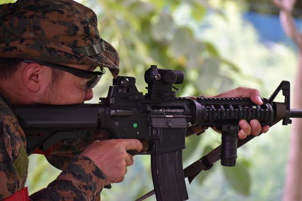 M4 射撃訓練