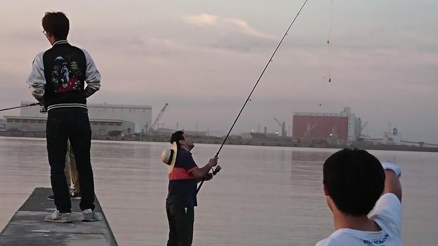 無題 -職場釣り部 第一回 in広尾-