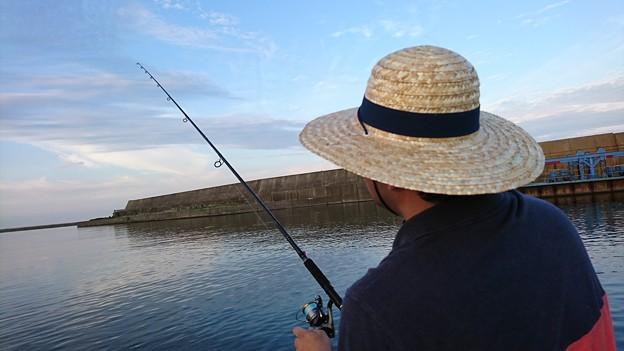 釣るBBQ設備設置マン-職場 釣り部第1回 in広尾-