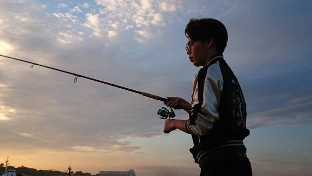 集中 -職場釣り部 第1回 in広尾-