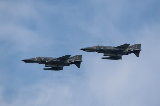 RF-4E~八雲分屯基地創立41周年行事