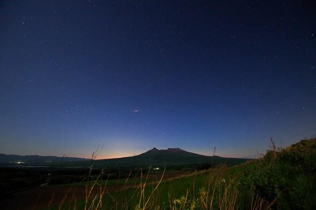 駒ヶ岳 星景