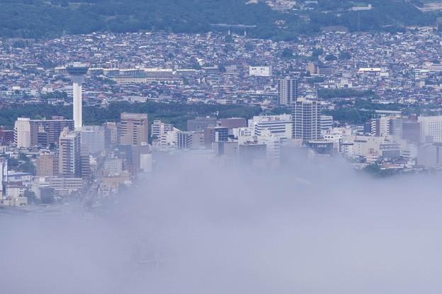 函館山~雲海