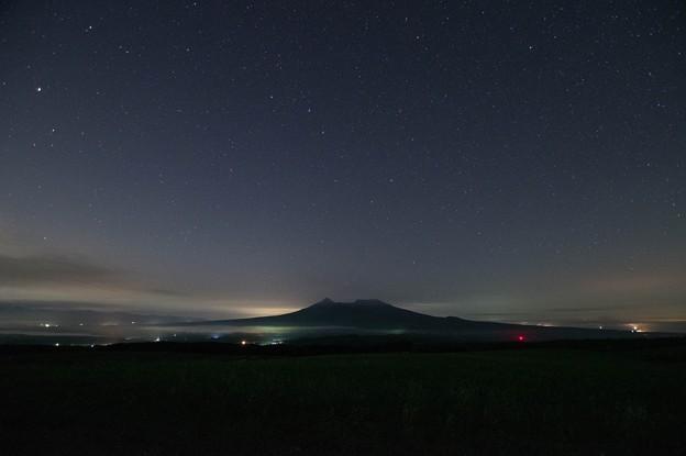 駒ヶ岳星景