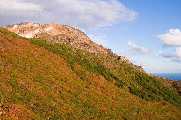 紅葉の恵山
