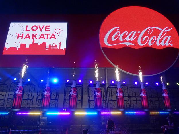 コカ・コーラの新しい広告塔20180609dsc01745