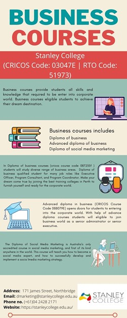 Make your dream come true with our business courses