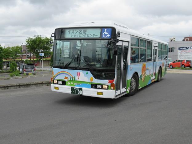 名士バス 三菱ふそうエアロスター 旭川230か・100