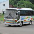 Photos: 幌加内町 三菱ふそうエアロミディ 旭川22ゆ・105