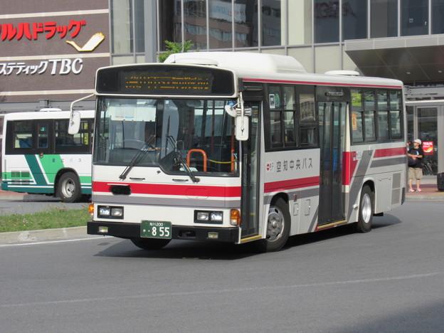 Photos: 空知中央バス 日野レインボー 旭川200か855