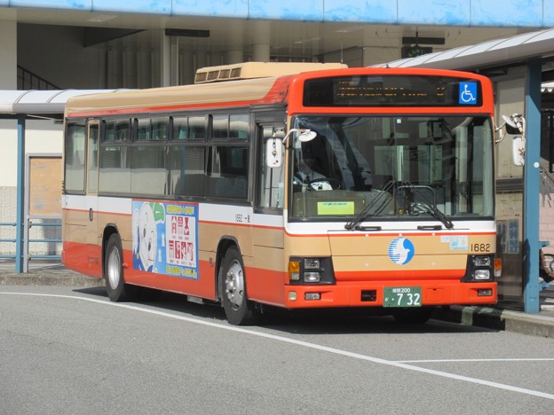 ウエスト神姫 いすゞエルガ 姫路200か・732