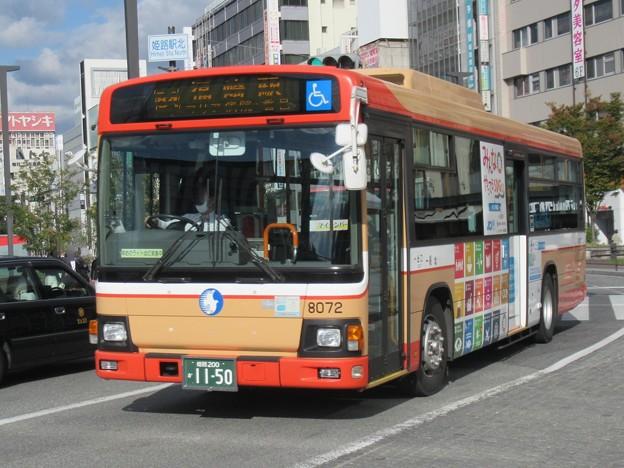 神姫バス 日野ブルーリボン 姫路200か11-50