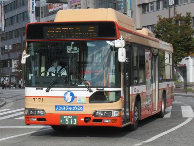 神姫バス 日野ブルーリボンシティハイブリッド 姫路200か・513