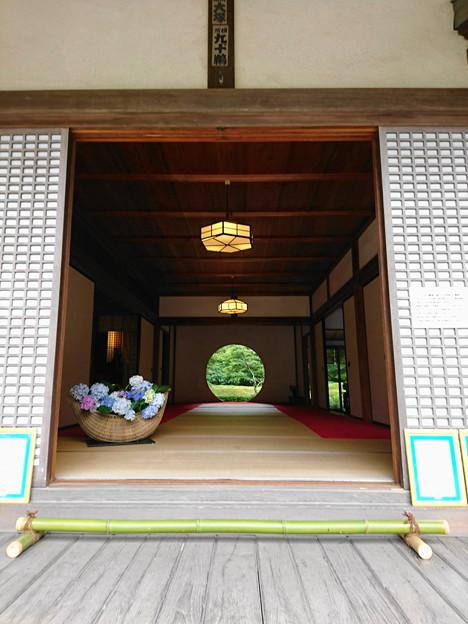 明月院の本堂