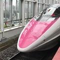 写真: 新幹線500系キティ塗装