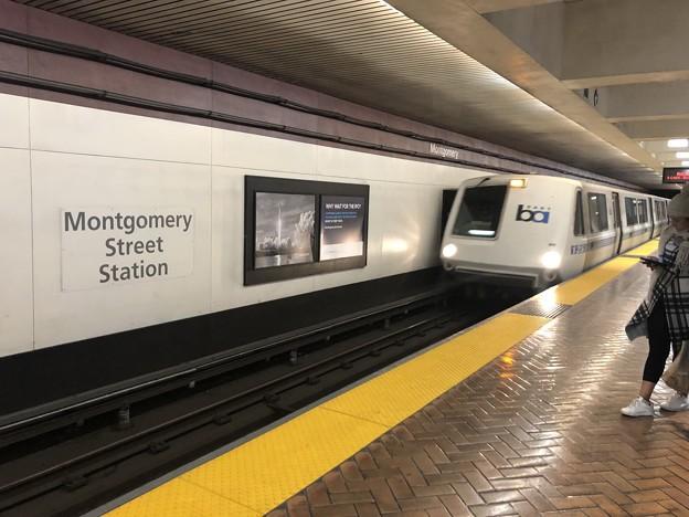 地下鉄だけど