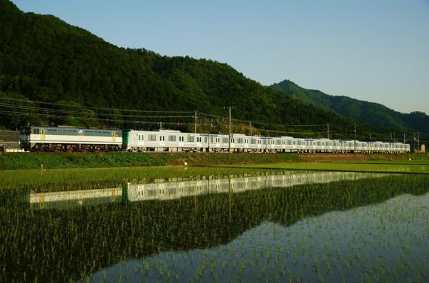 東京メトロ13000系甲種輸送(2)