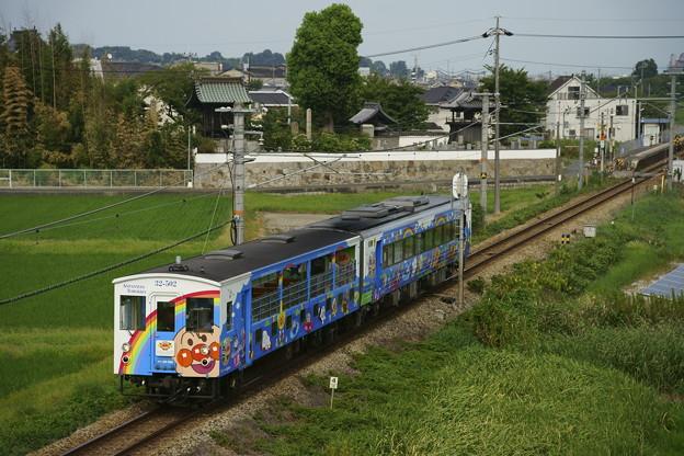 キハ32系・瀬戸大橋アンパンマントロッコ3号(2)