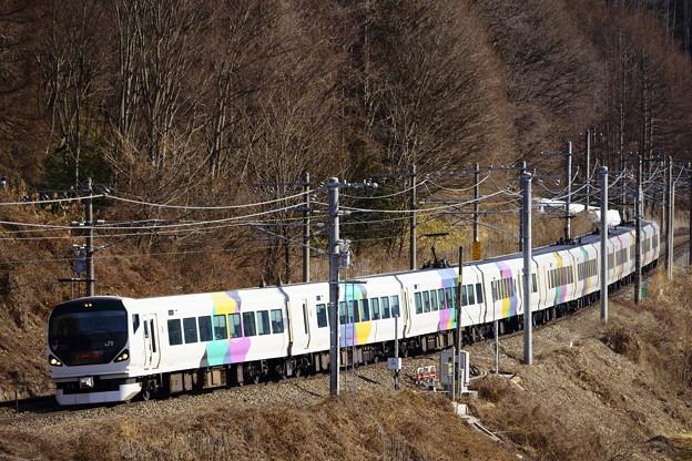 E257系・あずさ13号(63M)(6)