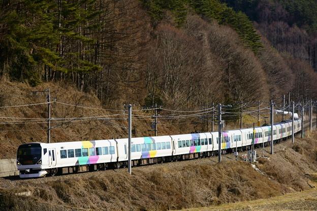E257系・あずさ13号(63M)(5)