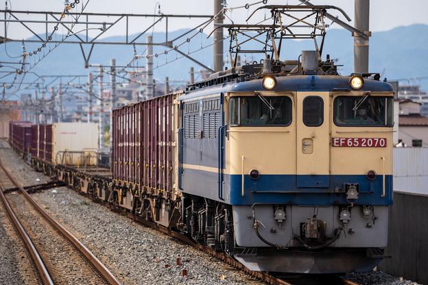 EF65-2070号機(5087レ) (3)